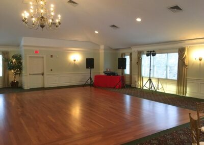 Regency at Stow Holiday Party DJ Dance Floor