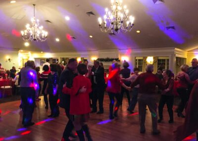 Regency at Stow Holiday Party Dancing Crowd