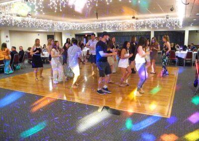 Sammy and Peter's Graduation Dance Floor