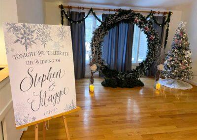 Maggie & Stephen's Wedding Sign