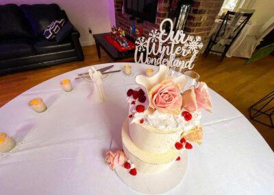 Maggie & Stephen's Wedding Cake