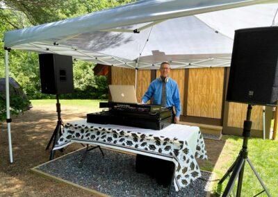 DJ Dave at Graduation Party