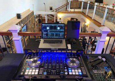 Fulchino Vineyard DJ Setup